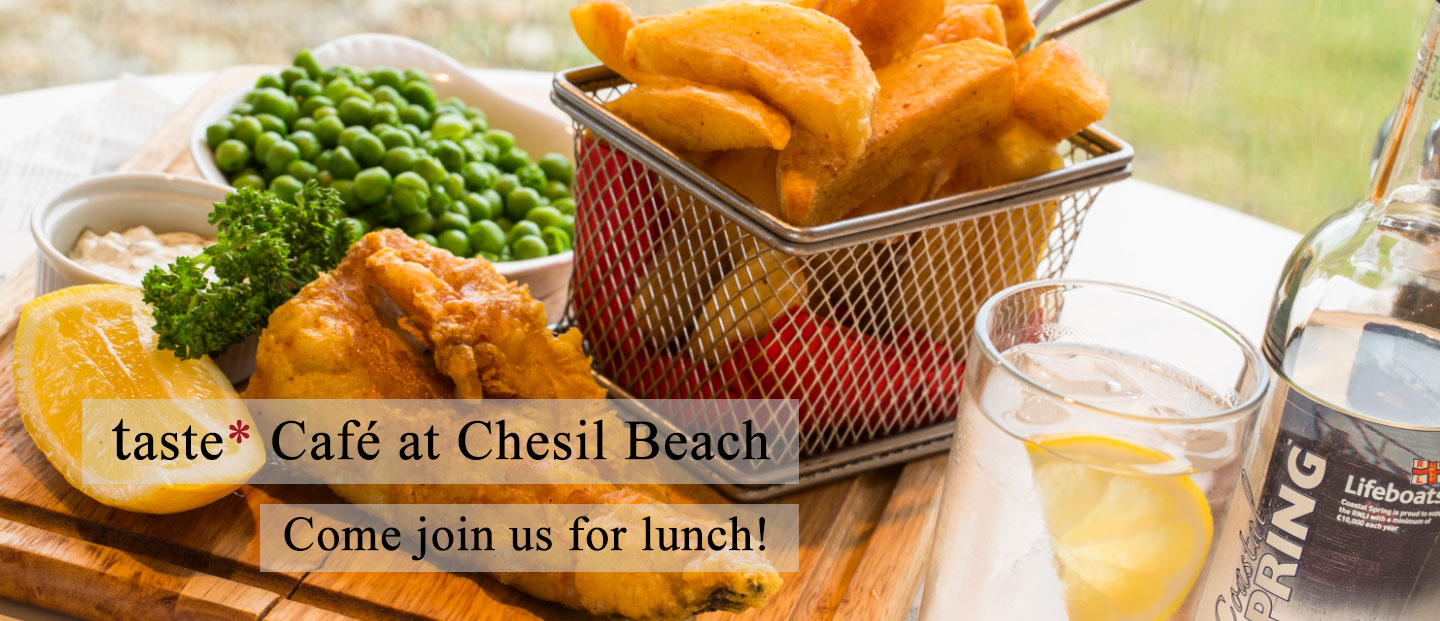 Come join taste* Chesil for lunch